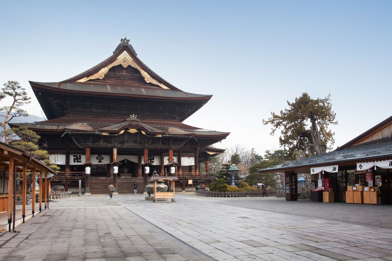 Zenkoji Temple, Welcome to Amida Buddha's World